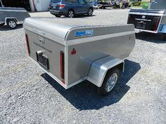 Cargo Pro 4 x 6 Cargo Trailers Cargo Trailers, Small Enclosed Trailer, Big Van, Small Luggage, Off Road Trailer, Travel, Image, Trips