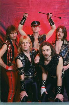 Glenn Tipton/K K Downing/Rob Halford/Ian Hill/Dave Holland Best Heavy Metal Bands, Heavy Metal Music, Iron Maiden Albums, Eighties Music, Rob Halford, Defender Of The Faith, Michael Hutchence, Glam Hair, Judas Priest