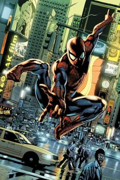 #Spiderman #Fan #Art. (Spider-Man) By: Bryan Hitch. ÅWESOMENESS!!!™