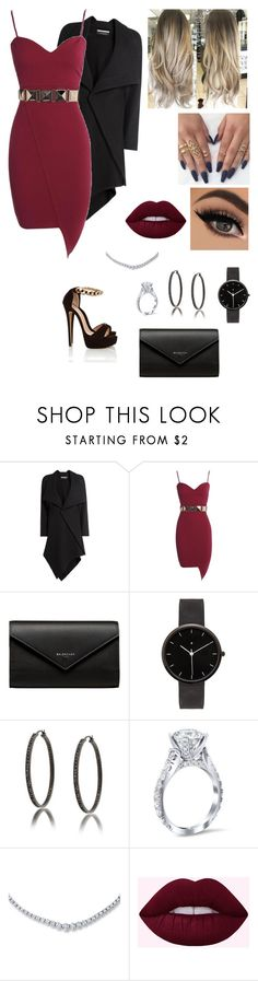 """""""Untitled #984"""" by afafxx ❤ liked on Polyvore featuring Roland Mouret, Balenciaga, I Love Ugly and Bling Jewelry"""