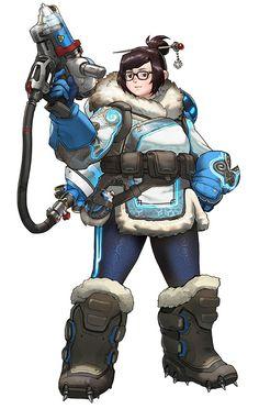 Mei from Overwatch