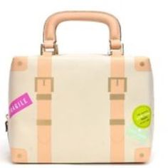 Kate Spade Mini travelers Trunk Bag! NWT Adorable! This bag has a lot of space inside and the looks outside! It'll turn heads! kate spade Bags Totes