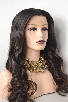 Eurasian Black Lace Frontal wig with density. Available in - Layla comes with an attached adjustable strap, titanium teeth combs, and a complementary hair bag for proper storage. *LAYLA is an AVH IN STOCK & READY TO SHIP Unit! All Virgin Hair, Lace Frontal, Teeth, Wigs, Ship, Storage, Black, Fashion, Hair Wigs