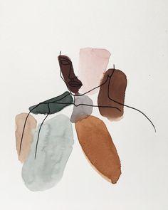 Art Abstrait Ligne, Art Minimaliste, Abstract Face Art, Cute Patterns Wallpaper, Inspiration Artistique, Painting Wallpaper, Kandinsky, Art Tutorials, Art Pictures