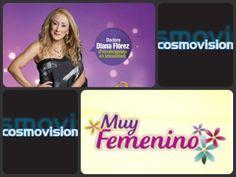 Recuerda que #SexualmenteVivos está por el Canal Cosmovisión .  Lunes a viernes Programa: Muy Femenino Hora: 1:30 a 3:00 p.m  Repetición: 7:30 a.m y 12:30 de la media noche.