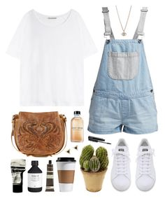 """""""Washed out"""" by sophiehackett ❤ liked on Polyvore featuring adidas, Bobbi Brown Cosmetics, Ash, Acne Studios, Nearly Natural, Vans, Minor Obsessions, H&M, Aesop and MAC Cosmetics"""