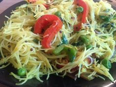 Craving some spicy food but dont want to spend hours in the kitchen? Let me help you out with this delicious, easy and flavourful recipe. Spicy Recipes, Indian Food Recipes, Vegan Recipes, Ethnic Recipes, Vermicelli Recipes, Rice Vermicelli, East Indian Food, Spicy Rice, Delicious Desserts