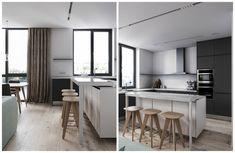 Двушка 65 м² с панорамными окнами и дизайнерской мебелью в новостройке | Филдс | Яндекс Дзен