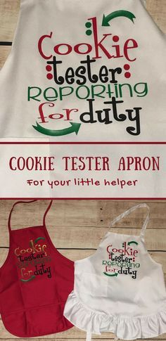 So cute for our traditional Christmas cookie baking day! #justforkids #christmascookies #sweettooth #affiliate
