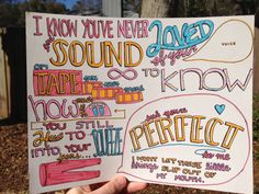 Little Things Lyric Drawing by TaylorandEmilysEtsy on Etsy, $5.00