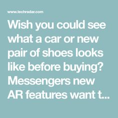88b6f722429 Wish you could see what a car or new pair of shoes looks like before buying