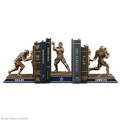 Bookends: Dallas Cowboys Legacy Bookends Collection