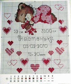 View album on Yandex. Cross Stitch Baby, Cross Stitch Patterns, Baby Embroidery, C2c, Kids Rugs, Yandex Disk, Hearts, Album, Gallery