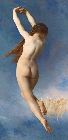William Adolphe Bouguereau - Der verlorene Stern