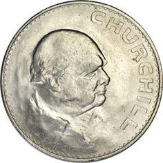 World Coins: Great Britian 1965 Winston Churchill Crown