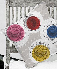 Melbourne designer Ashley le Quere. Via Print & Pattern.