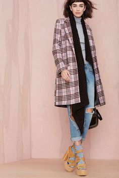 Plaid Attitude Coat