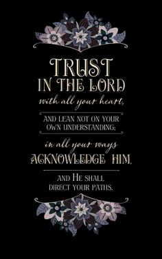 proverbs 3:6 / Sprüche 3:6