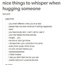 "This is fucking hilarious, if I ever hug someone again you bet I'll whisper ""I killed Mufasa"""