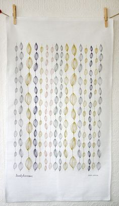 Leah Duncan | Onion and Leaves Tea Towel