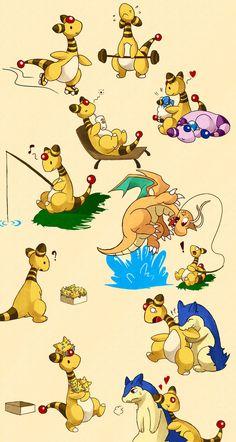 Random pokemon dump by LazyAmphy