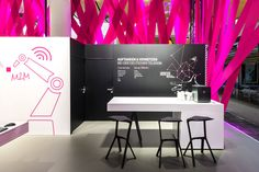 Deutsche Telekom Trade Fair Stand at Hannover Messe 2015 by hartmannvonsiebenthal, Hannover – Germany http://ift.tt/24x5zJU