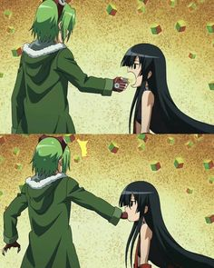 Akame ga Kill! Akame is the most dangerous person to be with when she's hungry.