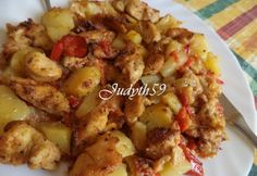 Körettel egyben sült fűszeres csirkemell | NOSALTY Poultry, Potato Salad, Cauliflower, Chicken Recipes, Recipies, Food And Drink, Healthy Recipes, Dinner, Vegetables