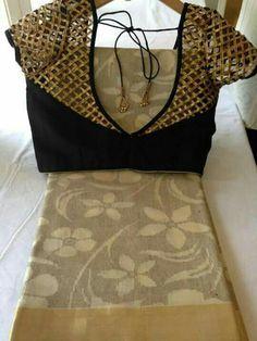 designer blouses get your salwar suit made Design Studio visit us… Saree Blouse Patterns, Sari Blouse Designs, Designer Blouse Patterns, Fancy Blouse Designs, Blouse Styles, Dress Designs, Blouse Desings, Sari Design, Blouse Models