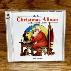 The Best Christmas Album In The World Ever New Edition Double Cd holidays music Christmas Albums, Christmas Fun, Holidays Music, Greg Lake, Cds For Sale, Jethro Tull, Bing Crosby, New Edition, Pop Rocks