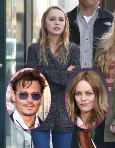 Lily-Rose Melody Depp in W. Hollywood, Calif. Feb.18, 2013 (Johnny Depp at Anaheim, Calif June 22, 2013)(Vanessa Paradis in Paris on March 5, 2013) | Celebrity Photos | Wonderwall