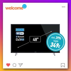 #welcomestores #welcomesmile #sales #february #homeappliances #smarttv #bluetooth Smart Tv, Wifi, Bluetooth, February