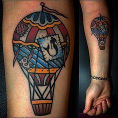 #tattoo #balloontattoo #mermaidtattoo