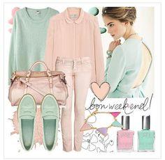 I love pastel fashion. :)