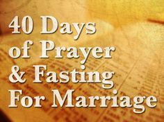 On February 22nd, I, along with many others, committed to a 40-day fast. You can read the blog article explaining the beginning of the fast by clicking ~> HERE!
