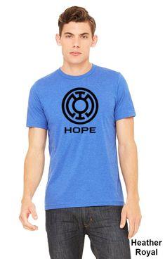 Blue Lantern Hope Symbol T-shirt Adult Unisex Shirt. Blue Lantern, Hope Symbol, Unisex, Have A Great Day, Bella Canvas, Colorful Shirts, Lanterns, Guys, Mens Tops