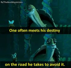 As Po (the kung fu panda) found out that there is no secret ingredient. Kung Fu Panda Quotes, Master Oogway, Best Movie Lines, Anime D, Pinterest Instagram, Cartoon Quotes, Nerd, Film Quotes, Cinema Quotes