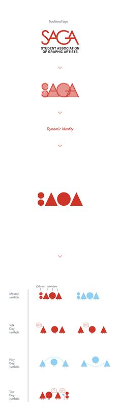 SAGA – Dynamic Identity on Behance
