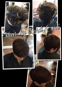 #hairbyLordandesme #toffee #spice #lordandesme #chemicalbiologist #haircut #hairmakeover #haircolor #brunettes #winterhair #winter #hairstyle #shorthair #creativecut #before #after #Alamoheights #sanantonio #sanantoniostylist #pixie #style
