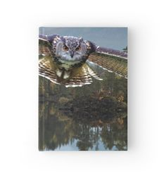 The Cry of the Owl by anni103 #owl  #hardcoverjournal #redbubble