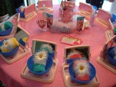 I think this would be soo cute for a little girls party!