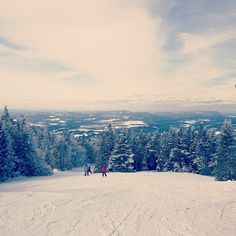 Burke Mountain skiing