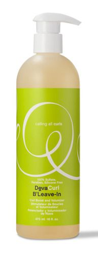 DevaCurl B'Leave-In    Curl Boost and Volumizer    A botanically enriched curl volumizer that enhances fullness and strength. Ideal for fine delicate curls.