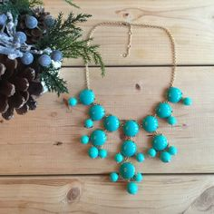 """T&J Designs Bubble Necklace Brand new necklace, very pretty color and made very well! 22"""" in length with 4"""" extender. 🎈CONSIDERING ALL OFFERS🎈 T&J Designs Jewelry Necklaces"""