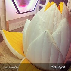 "By @studiosouffle ""A peak of the lotus structure in bloom @haberdashery #dalston #led #inflatable #studiosouffle #lighting #nowhere #burningman #visualmerchandising #eventstructure #partytent #wedding #handmade #hapiexperience #Calgary @beakerhead #lotus #flower #custommade #custom #meditation #pod #dome"" via @PhotoRepost_app #BurningMan #nightlife Check more at…"