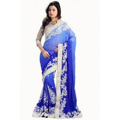 Authentic Royal Blue Saree