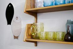 Kirppisrakkautta Kitchenware, Finland, Floating Shelves, Home Decor, Decoration Home, Room Decor, Wall Shelves, Kitchen Gadgets, Home Interior Design