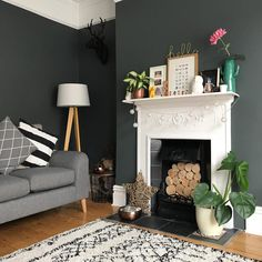 Changing Tips for Living Room in a Small Place - Abchomedecor Living Room Decor Fireplace, Living Room Shelves, Small Living Rooms, Living Room Modern, Living Room Bedroom, Home And Living, Chimney Decor, French Country Living Room, Living Room Color Schemes