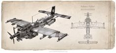 Rahmos Fighter by Keith Thompson            Cool Dieselpunk Artworks