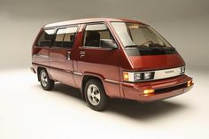 """Toyota brought this Van LE along to SEMA as a """"then and now"""""""